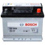 Аккумулятор автомобильный Bosch S3 6СТ-56R+(0092S30050)