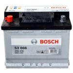 Аккумулятор автомобильный Bosch S3 6СТ-56L+(0092S30060)