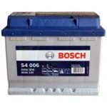 Аккумулятор автомобильный Bosch S4 6СТ-60L+(0092S40060)