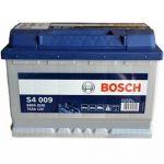 Аккумулятор автомобильный Bosch S4 6СТ-74L+(0092S40090)