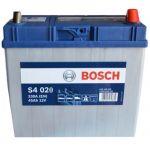 Аккумулятор автомобильный Bosch S4 asia 6СТ-45R+(0092S40200)тонкая клема