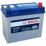 Аккумулятор автомобильный Bosch S4 asia 6СТ-45R+(0092S40210)