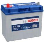 Аккумулятор автомобильный Bosch S4 asia 6СТ-45L+(0092S40220)тонкая клема