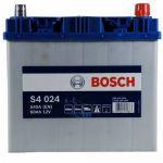 Аккумулятор автомобильный Bosch S4 asia 6СТ-60R+(0092S40240)
