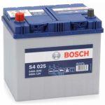Аккумулятор автомобильный Bosch S4 asia 6СТ-60L+(0092S40250)