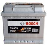 Аккумулятор автомобильный Bosch S5 6СТ-63R+(0092S50050)
