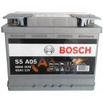 Аккумулятор автомобильный Bosch AGM 6CT-60R+(0092S5A050)