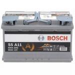 Аккумулятор автомобильный Bosch AGM 6CT-80R+(0092S5A110)
