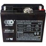 Промышленный аккумулятор Outdo 6СТ-20R+