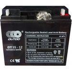 Промышленный аккумулятор Outdo 6СТ-55L+