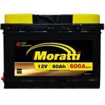 Аккумулятор для автомобиля Moratti kamina 6СТ-60R+