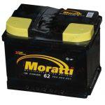 Аккумулятор для автомобиля Moratti kamina 6СТ-62L+