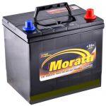 Аккумулятор для автомобиля Moratti JIS 6СТ-65R+