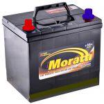 Аккумулятор для автомобиля Moratti JIS 6СТ-65L+