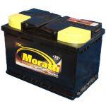 Аккумулятор для автомобиля Moratti kamina 6СТ-75L+