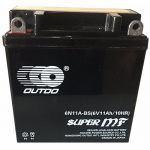 Аккумулятор Outdo GEL Moto 3CT-11L+(6V) 6N11A-BS