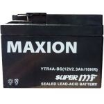 Аккумулятор Maxion AGM Moto 6CT-2,3R+(12V) YTR  4A-BS