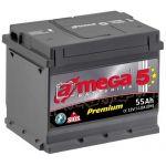 Аккумулятор для автомобиля A-mega Premium 6СТ-55R+