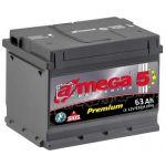Аккумулятор для автомобиля A-mega Premium 6СТ-63R+