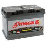 Аккумулятор для автомобиля A-mega Premium 6СТ-74R+