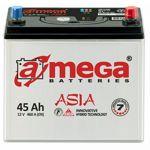 Аккумулятор для автомобиля A-mega Premium asia 6СТ-45R+