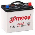 Аккумулятор для автомобиля A-mega Premium asia 6СТ-60R+