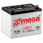 Аккумулятор для автомобиля A-mega Premium asia 6СТ-75R+