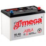 Аккумулятор для автомобиля A-mega Premium asia 6СТ-95R+