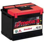 Аккумулятор для автомобиля A-mega Standart 6СТ-60R+