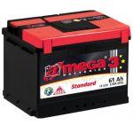 Аккумулятор для автомобиля A-mega Standart 6СТ-61R+