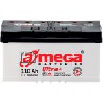 Аккумулятор для автомобиля A-mega Ultra Plus 6СТ-110R+