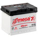 Аккумулятор для автомобиля A-mega Ultra Plus 6СТ-64R+