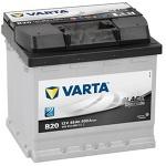 Автомобильный аккумулятор Varta Black Dynamic 45 (B20)545413040
