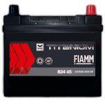 Автомобильный аккумулятор Fiamm Titanium pro black asia 6СТ-45R+