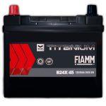 Автомобильный аккумулятор Fiamm Titanium pro black asia 6СТ-45L+