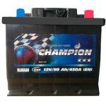 Аккумулятор для автомобиля Champion Black 6СТ-50R+