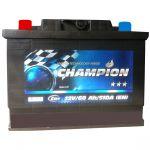 Аккумулятор для автомобиля Champion Black 6СТ-60L+