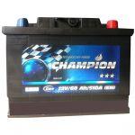 Аккумулятор для автомобиля Champion Black 6СТ-60R+