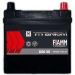 Автомобильный аккумулятор Fiamm Titanium pro black asia 6СТ-50R+