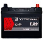 Автомобильный аккумулятор Fiamm Titanium pro black asia 6СТ-60R+