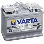 Автомобильный аккумулятор Varta Start Stop Plus 70 (E39)570901076