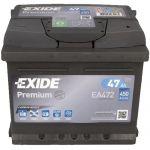 Автомобильный аккумулятор Exide 6СТ-47R+ Premium