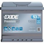 Автомобильный аккумулятор Exide 6СТ-53R+ Premium