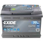Автомобильный аккумулятор Exide 6СТ-77R+ Premium