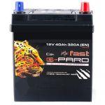 Аккумулятор для автомобиля Fast G-Pard asia 40R+