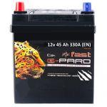 Аккумулятор для автомобиля Fast G-Pard asia 45L+