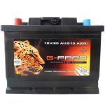 Аккумулятор для автомобиля G-Pard 60L+