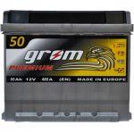Аккумулятор для автомобиля Grom Premium 6СТ-50R+