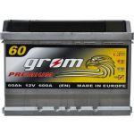 Аккумулятор для автомобиля Grom Premium 6СТ-60L+