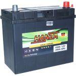 Аккумулятор для авто Hanza Gold asia 6СТ-45R+